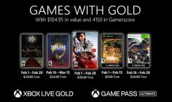 Games with Gold im Februar 2021 mit Gears 5, Resident Evil und Indiana Jones