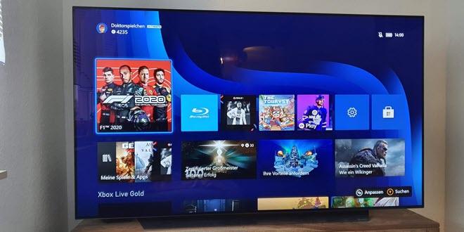 LG OLED 65CX9LA ausprobiert: Der ideale Fernseher für die Xbox Series X?