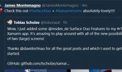 Bei Microsoft sprühen auch intern die Funken für das Surface Duo