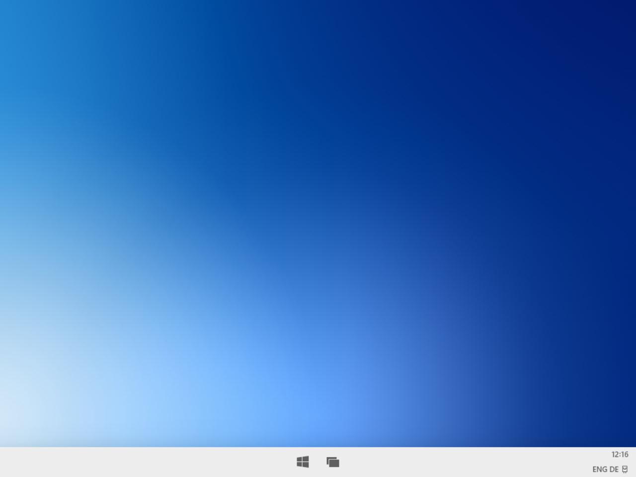 Windows 10X Desktop