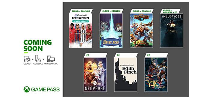 Xbox Game Pass im Januar 2021: PES 2021, Injustice 2 und viele Indie-Titel