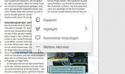 Microsoft Edge: Vorschauversion mit neuem Kontextmenü für PDF-Dateien