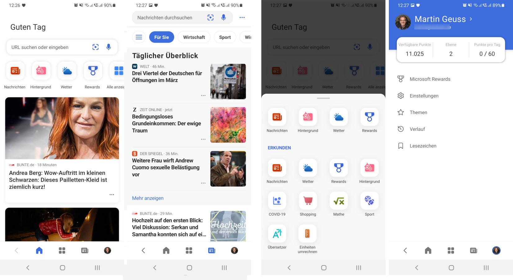 Microsoft News für Android