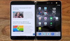 Fazit zum Surface Duo: Machs noch einmal, Microsoft! Und dann bitte richtig