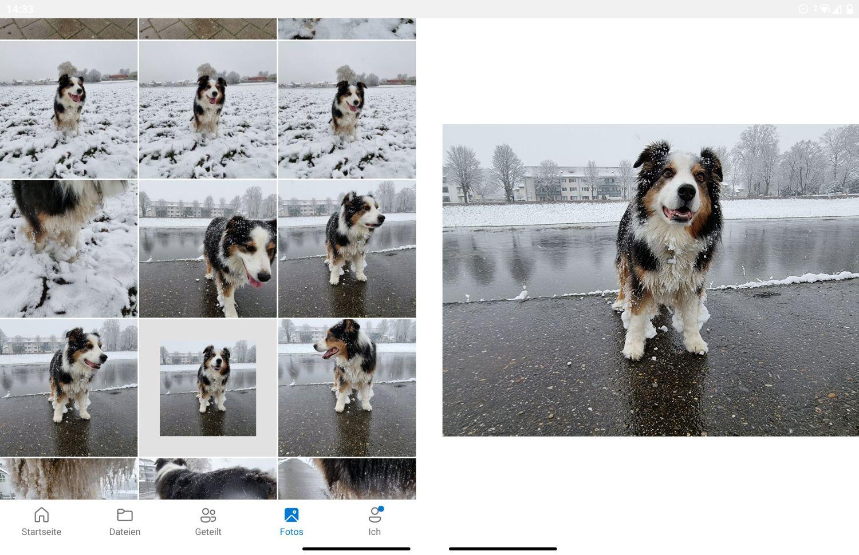 OneDrive auf dem Surface Duo