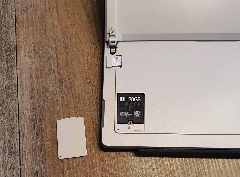 Surface Pro 7 Plus SSD und LTE