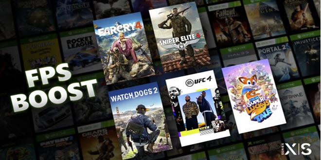 FPS Boost: Abwärtskompatible Spiele laufen auf Xbox Series X und S mit bis zu 120 FPS