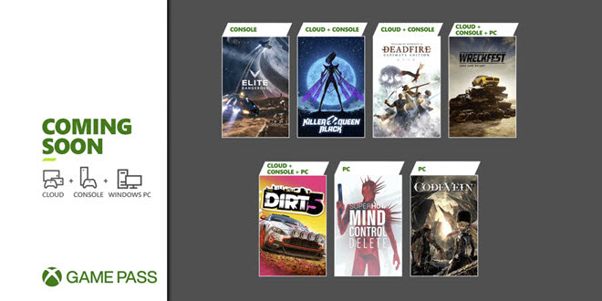 Xbox Game Pass Update: Dirt 5, Elite Dangerous - und eine geheime Botschaft?