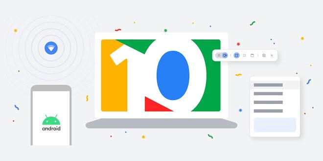 Google feiert zehn Jahre Chromebooks mit interessanten neuen Funktionen für Chrome OS