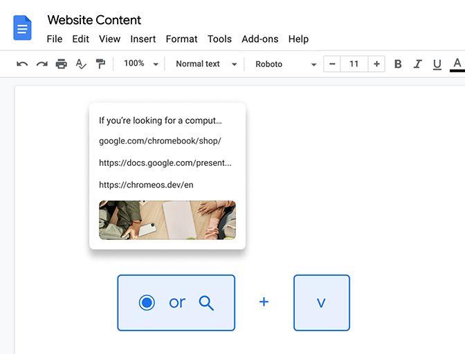Chrome OS Zwischenablage Verlauf