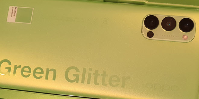 Review: Oppo Reno4 Pro 5G in Green Glitter - ein wenig Lumia-Nostalgie