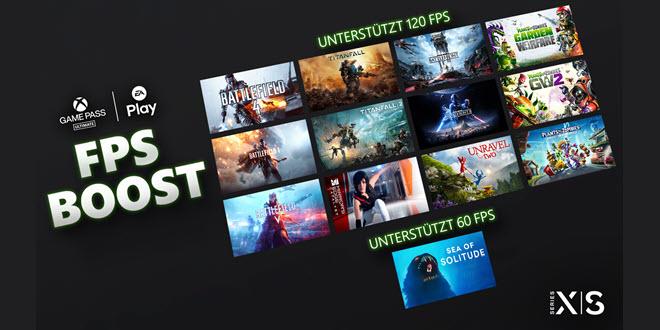 Xbox Series X und S: FPS-Boost für 13 weitere EA-Titel