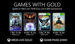 Xbox Live Gold: Die kostenlosen Spiele im Mai 2021
