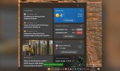 Update für Windows 10 Versionen 2004 und 20H2 bringt News in die Taskleiste - oder auch nicht
