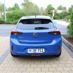 Heck des Opel Corsa-e