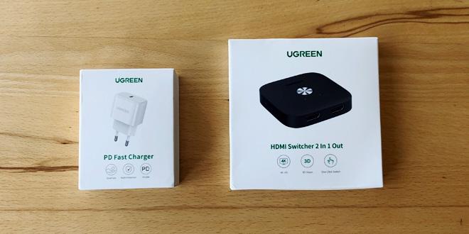 Gadgetcheck: UGREEN HDMI Switch und kleiner Fast-Charger im Test