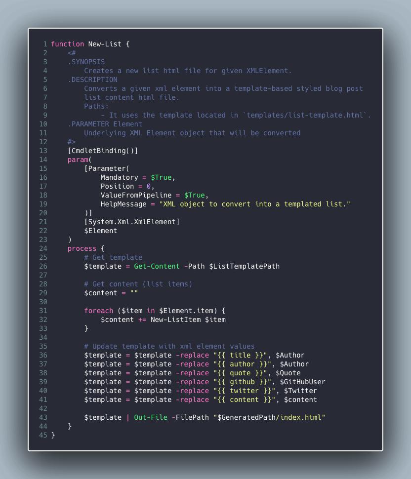 GitHub Issue Action PowerShell Blog Converter Skript