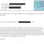 E-Mail von Phil Spencer an Tim Sweeney
