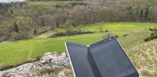 Wandertag mit dem Surface Duo