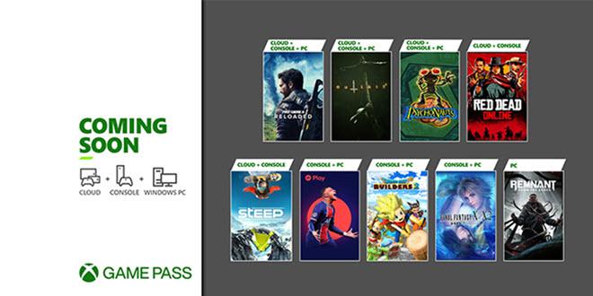 Xbox Game Pass Mai Update