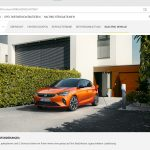My-Opel-Webseite mit Tipps und Werbung zu Ladelösungen.