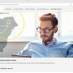 Reiseplaner mit Ladestationen über die My-Opel-Webseite.
