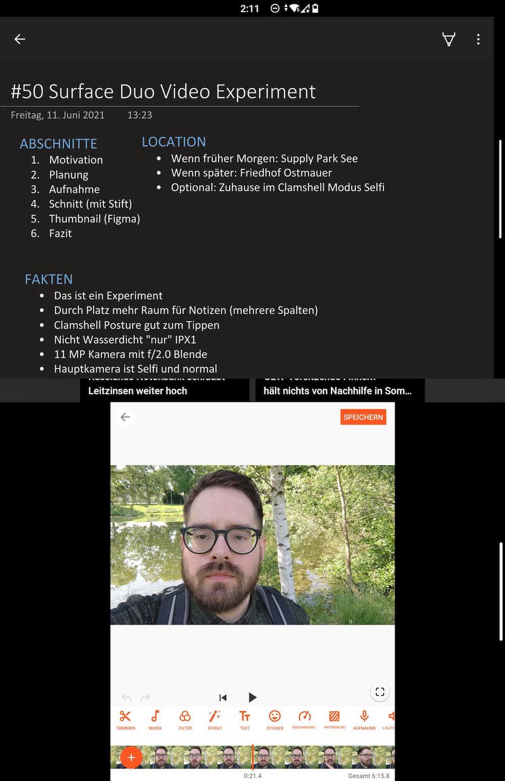 Videobearbeitung mit YouCut
