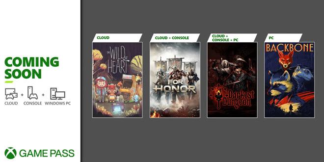 Xbox Game Pass: Erste Welle an neuen Spielen angekündigt