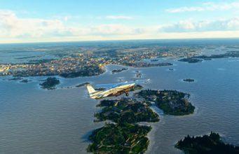 MS Flight Simulator Nordics World Update