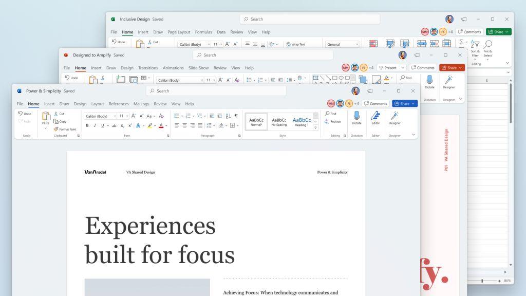 Microsoft Office Redesign