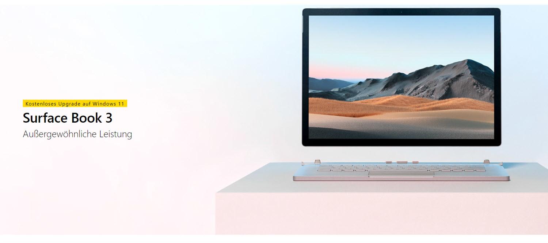 Surface Book 3 se ha actualizado a Windows 11
