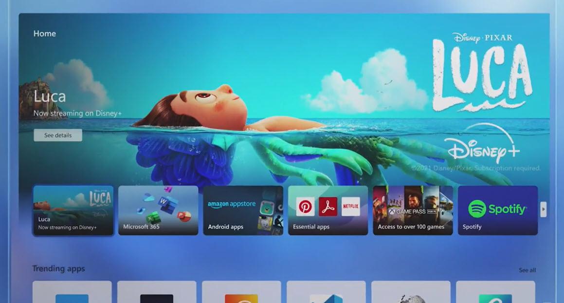 Epic Games Store jetzt im Store von Windows 11 - Disney+ auch für Windows 10