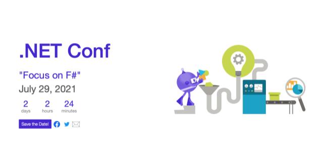 """Hinweis für Entwickler: Die .NET Conf """"Focus on F#"""" startet am 29. Juli um 17 Uhr"""