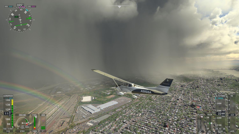 MS Flight Simulator auf der Xbox Series X