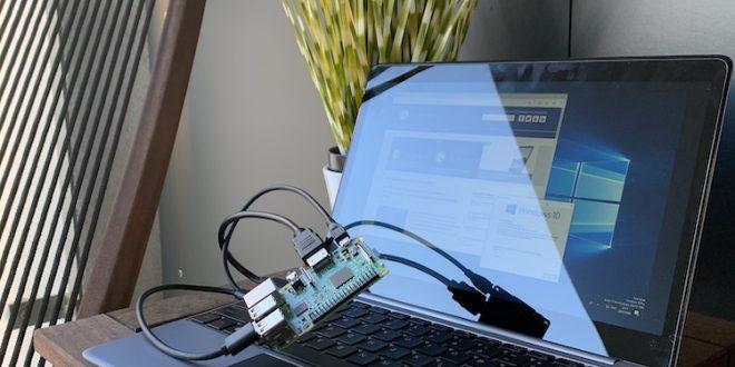 Bastelprojekt: Raspberry Pi, NexDock und Windows On ARM - es hätte ja klappen können