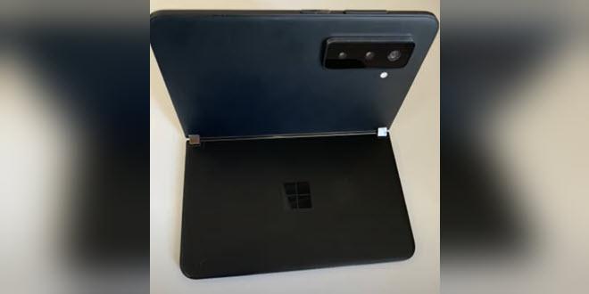Bitte lass es Fake sein: Fotos zeigen angeblich Surface Duo 2 mit Kamerabuckel