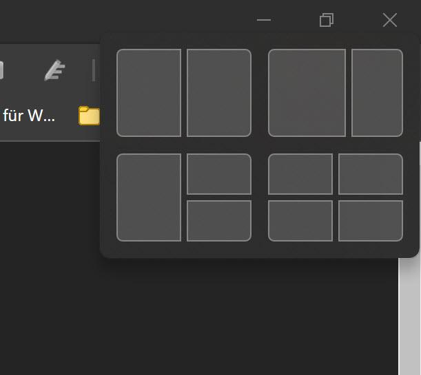 Windows 11 Snap Assistent