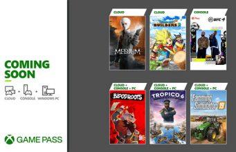 Xbox Game Pass Juli 21