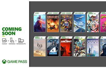 Xbox Game Pass Juli Update