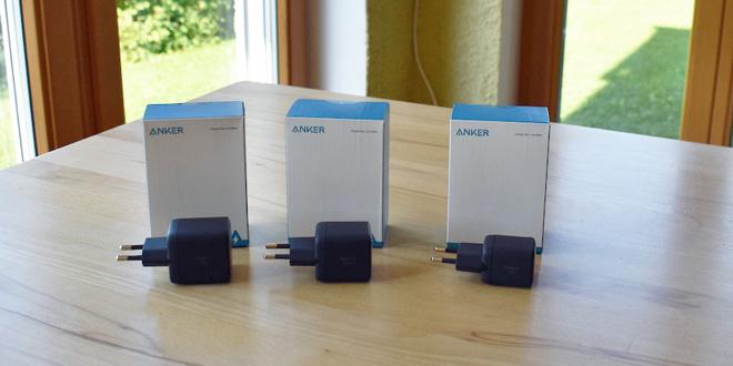 Gadgetcheck: Anker startet mit drei neuen Nano-Ladegeräten