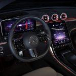 In der Mercedes-Benz C-Klasse gibt es bereits MBUX-Version 2.0 mit Klimabedienung via Touchscreen in der Mittelkonsole.