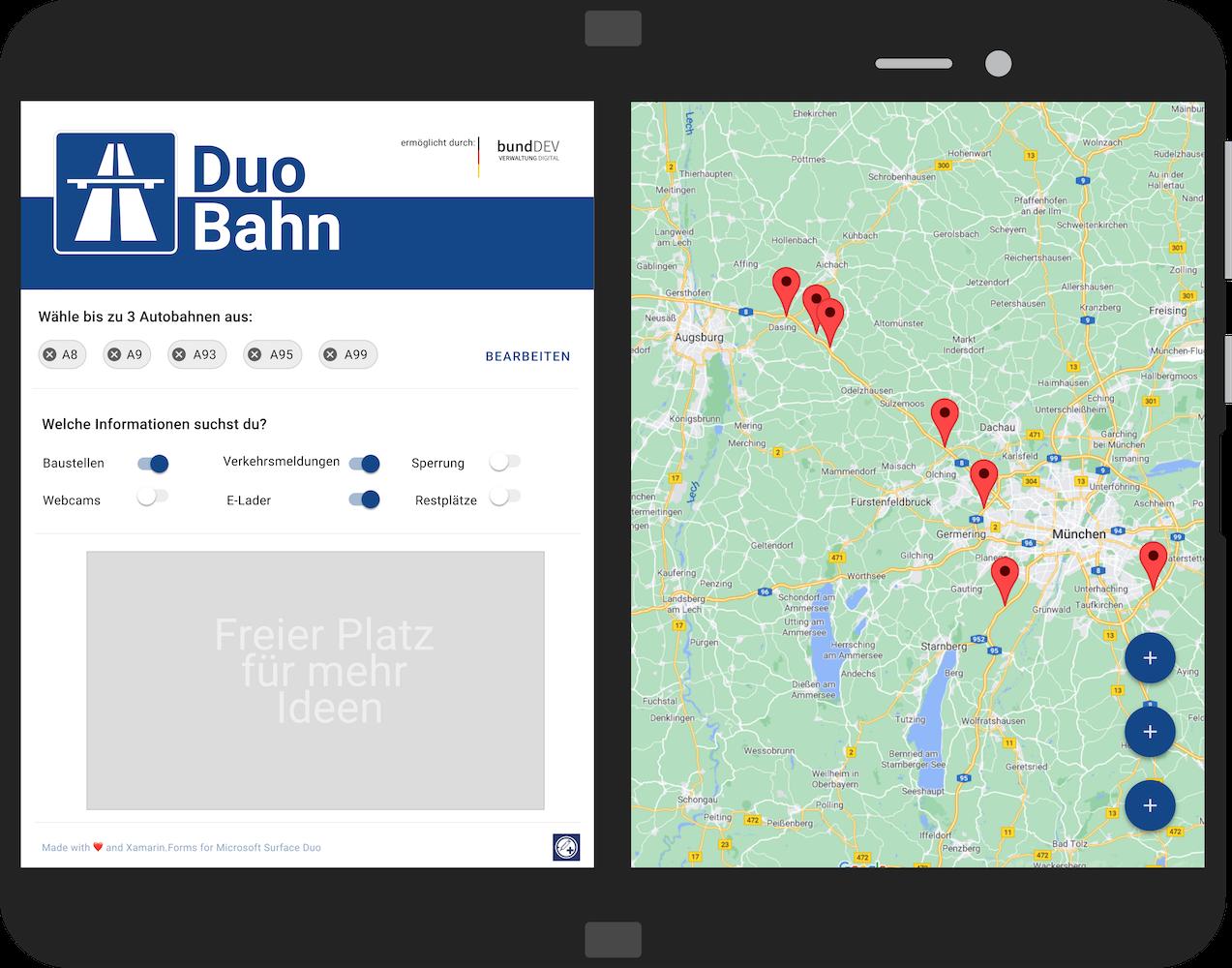 DuoBahn App