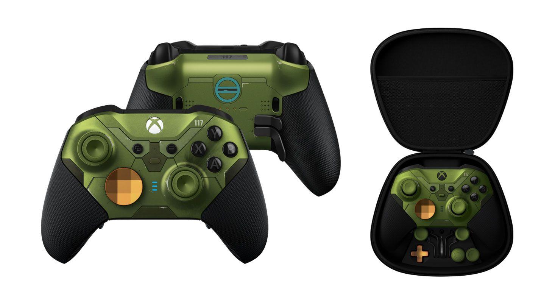 Xbox Series 2 Elite Controller im Halo Design