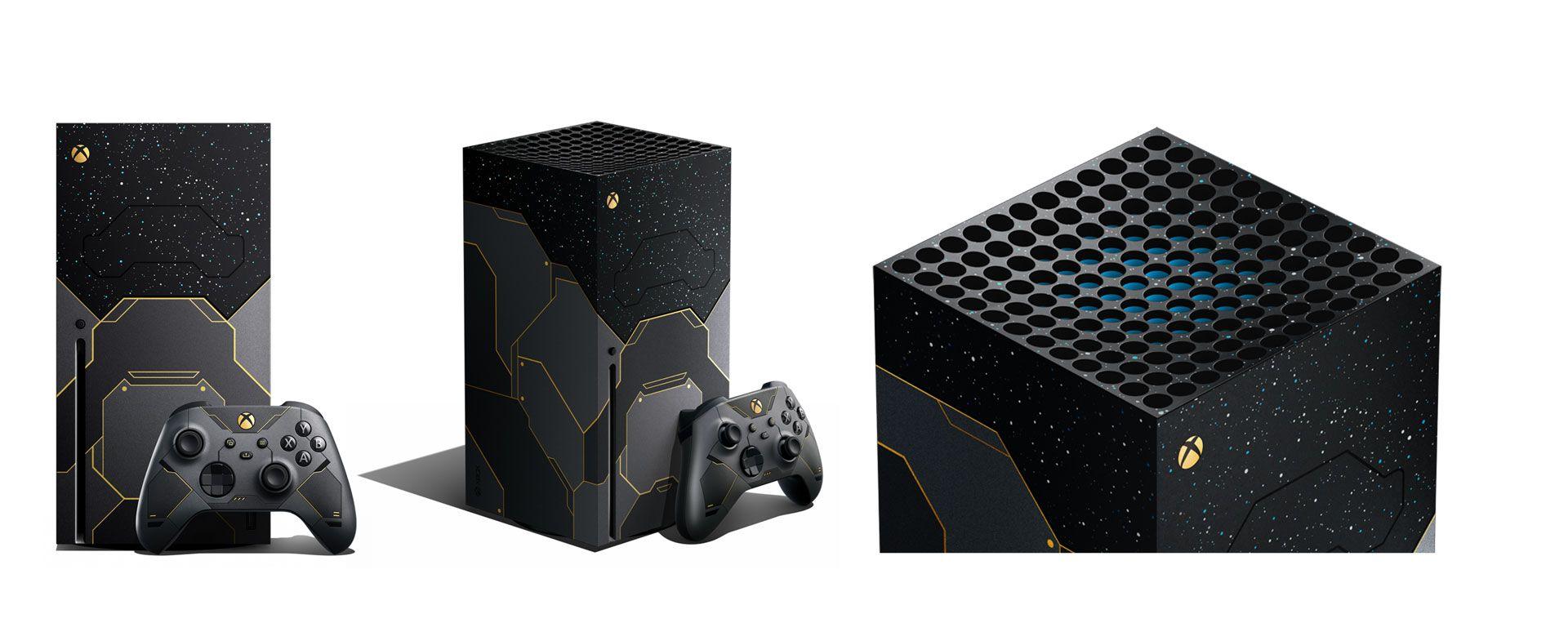 Xbox Series X im Halo Design