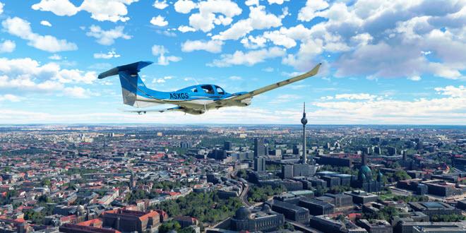 MS Flight Simulator: Screenshots und Trailer zum Welt Update für Deutschland, Österreich und die Schweiz