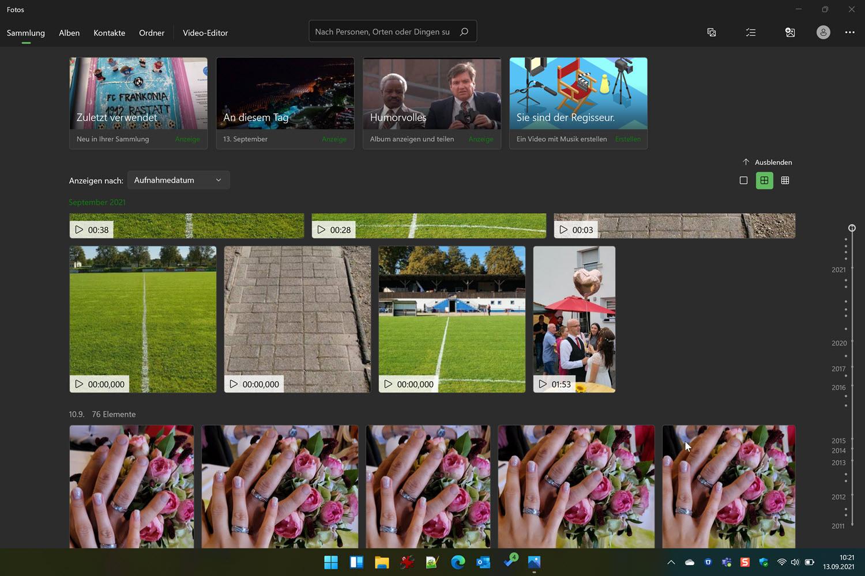 Windows 11 Fotos App