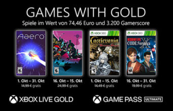 Games with Gold Oktober 2021