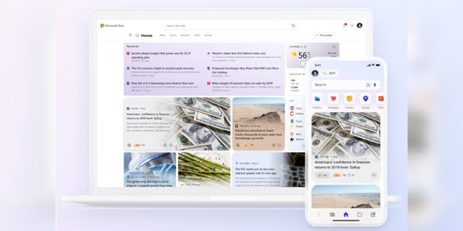 Aus den Microsoft News wird Start - ein personalisierter Nachrichtendienst