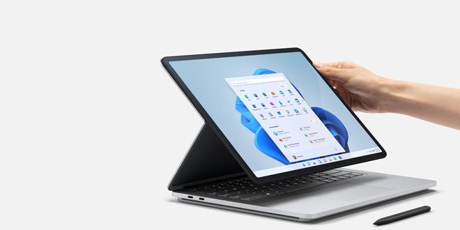 Das Surface Laptop Studio ist Microsofts neues Flaggschiff