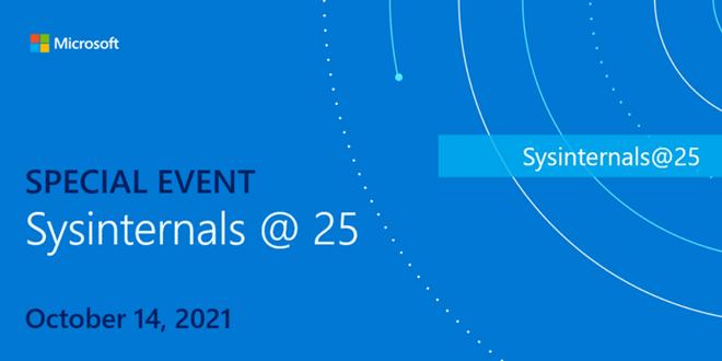 25 Jahre Sysinternals: Online-Event am 14. Oktober ab 17 Uhr